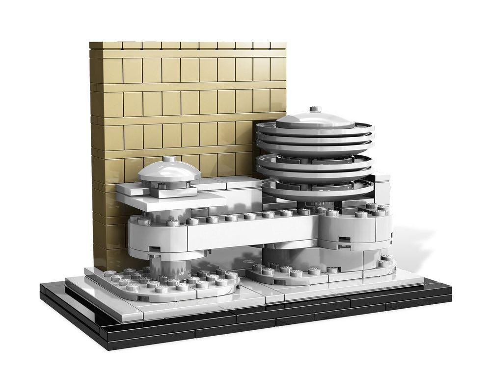 LEGO Set 21004-1 Solomon R. Guggenheim Museum (Model - A-Model)