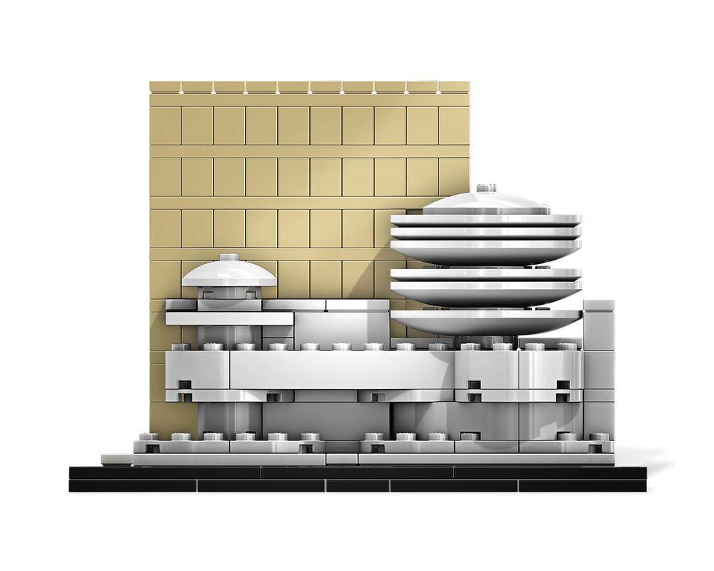 LEGO Set 21004-1 Solomon R. Guggenheim Museum