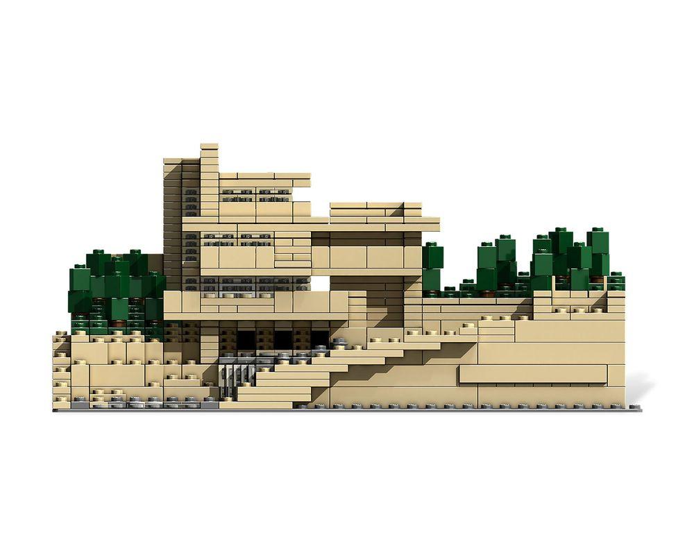 LEGO Set 21005-1 Fallingwater