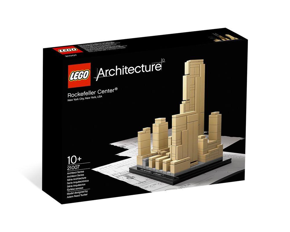 LEGO Set 21007-1 Rockefeller Center