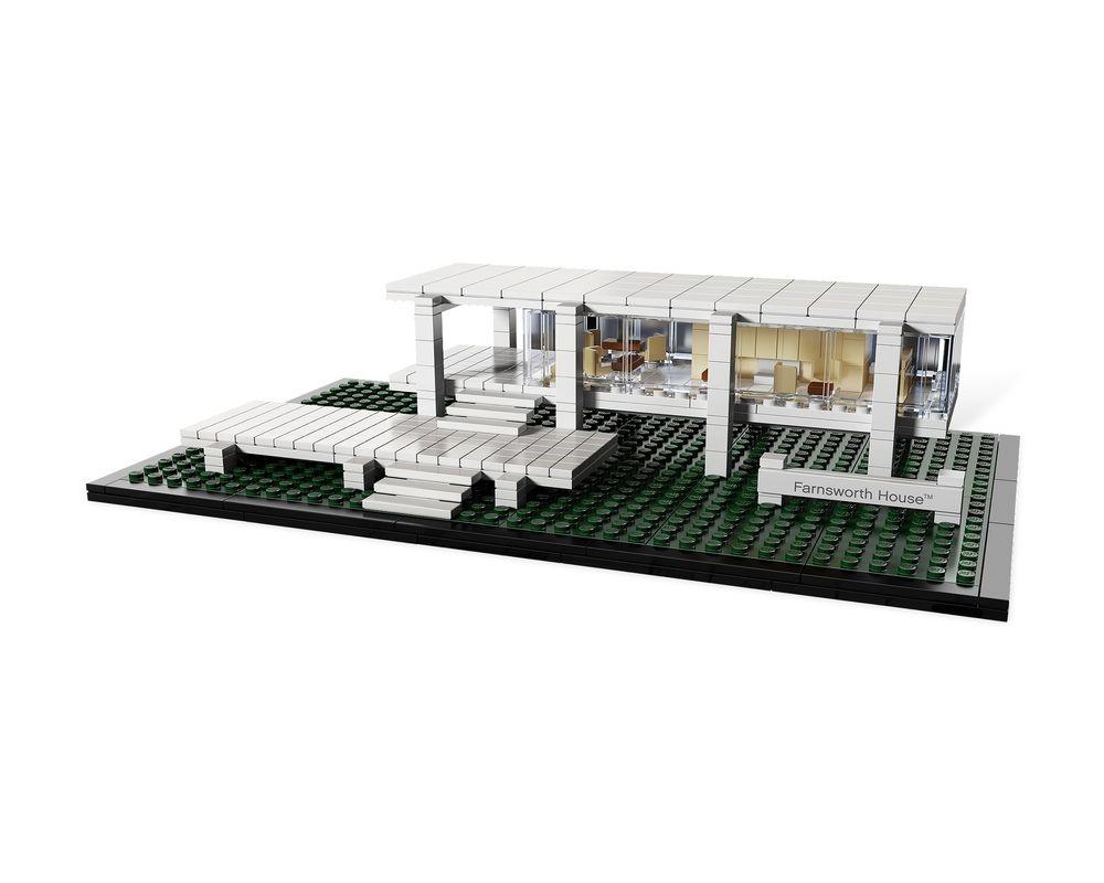 LEGO Set 21009-1 Farnsworth House (Model - A-Model)