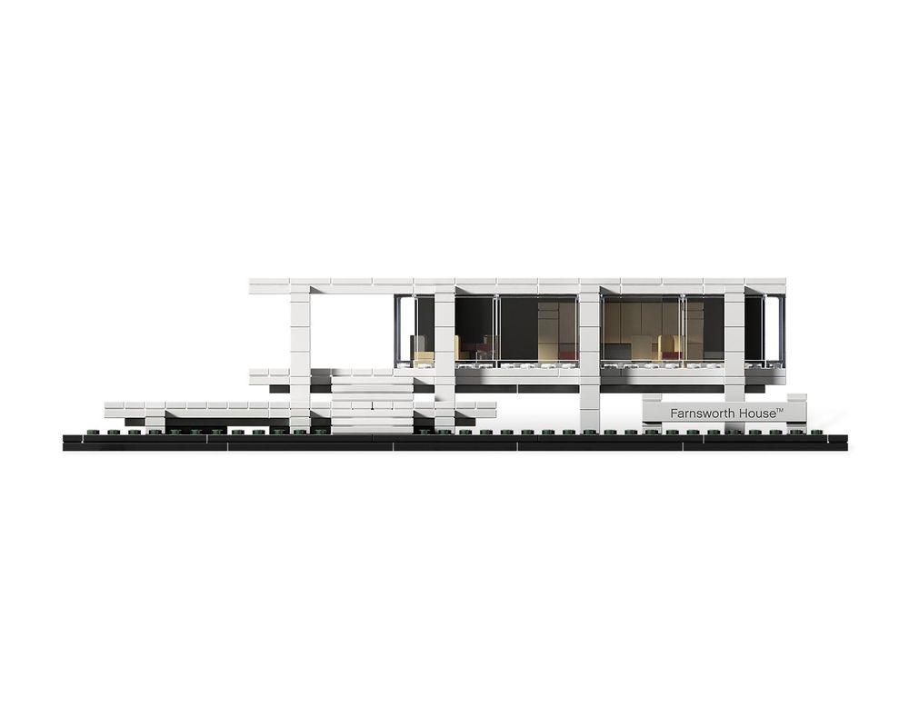 LEGO Set 21009-1 Farnsworth House
