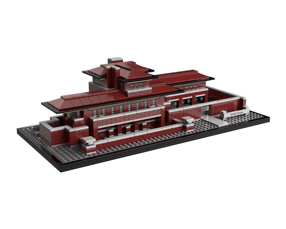 LEGO Set 21010-1 Robie House (Model - A-Model)