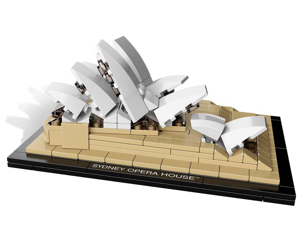 LEGO Set 21012-1 Sydney Opera House (Model - A-Model)