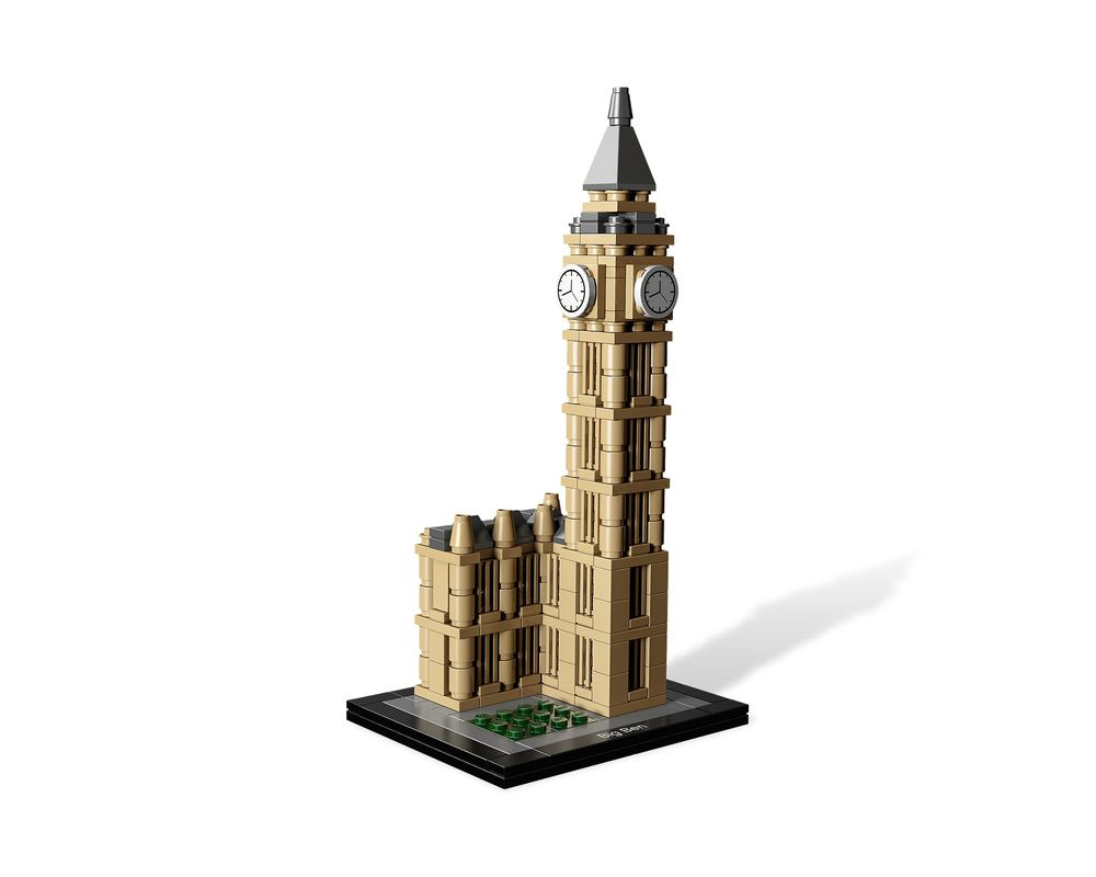 LEGO Set 21013-1 Big Ben (Model - A-Model)