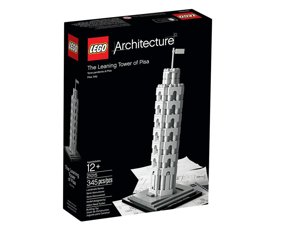 LEGO Set 21015-1 The Leaning Tower of Pisa
