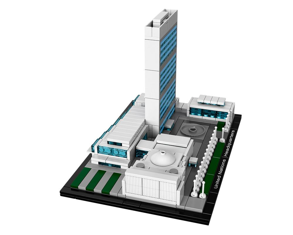 LEGO Set 21018-1 United Nations Headquarters