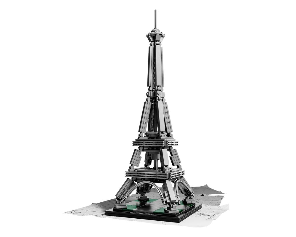 LEGO Set 21019-1 The Eiffel Tower (LEGO - Model)