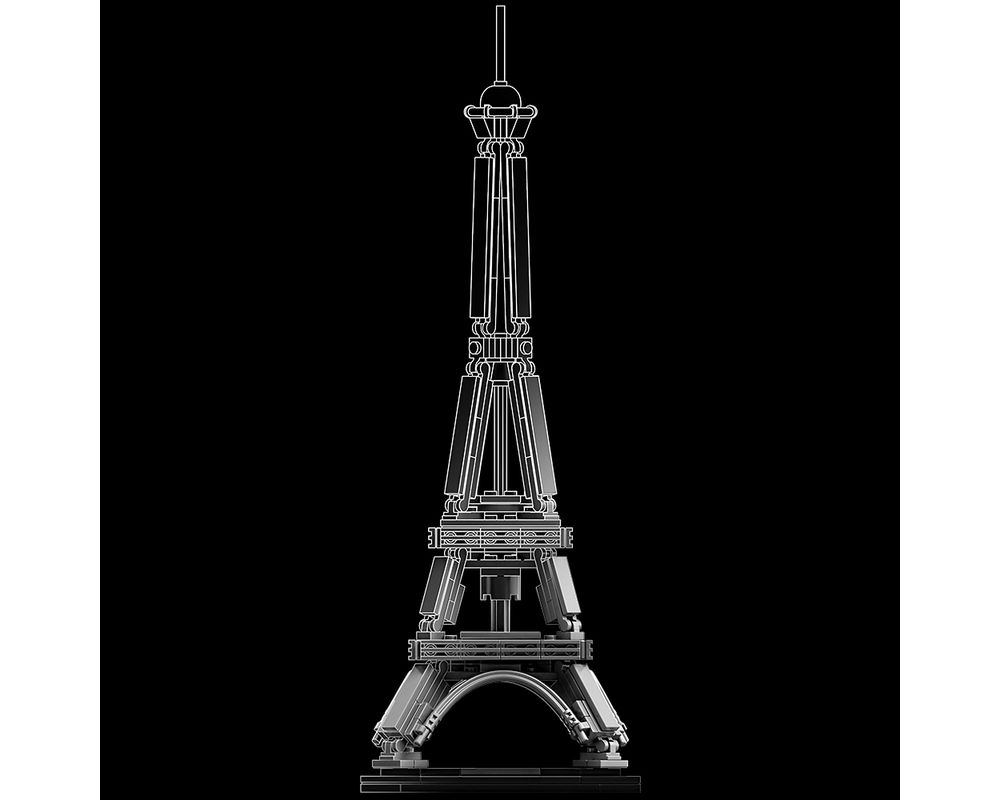 LEGO Set 21019-1 The Eiffel Tower