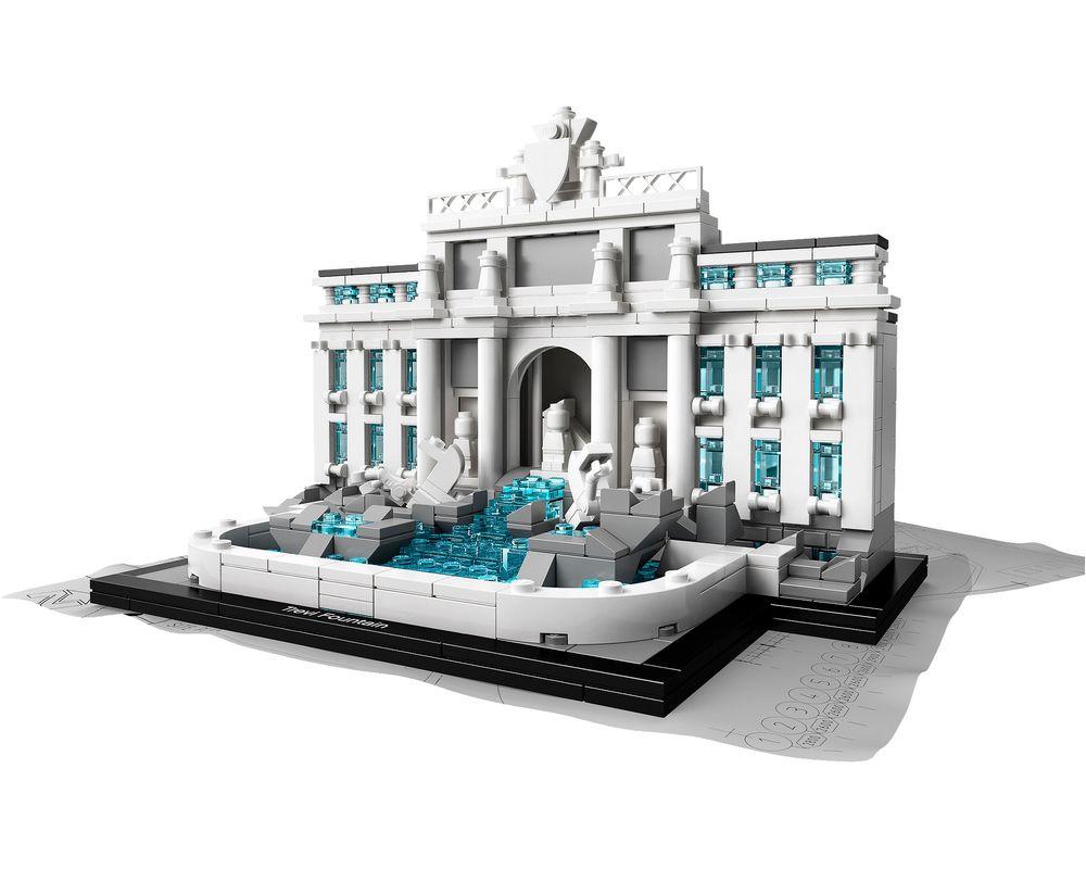 LEGO Set 21020-1 Trevi Fountain (Model - A-Model)
