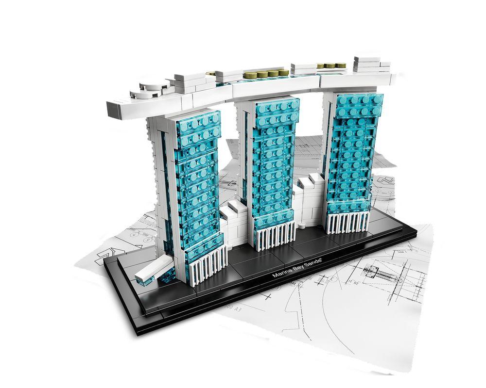 LEGO Set 21021-1 Marina Bay Sands (LEGO - Model)