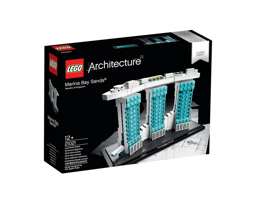 LEGO Set 21021-1 Marina Bay Sands