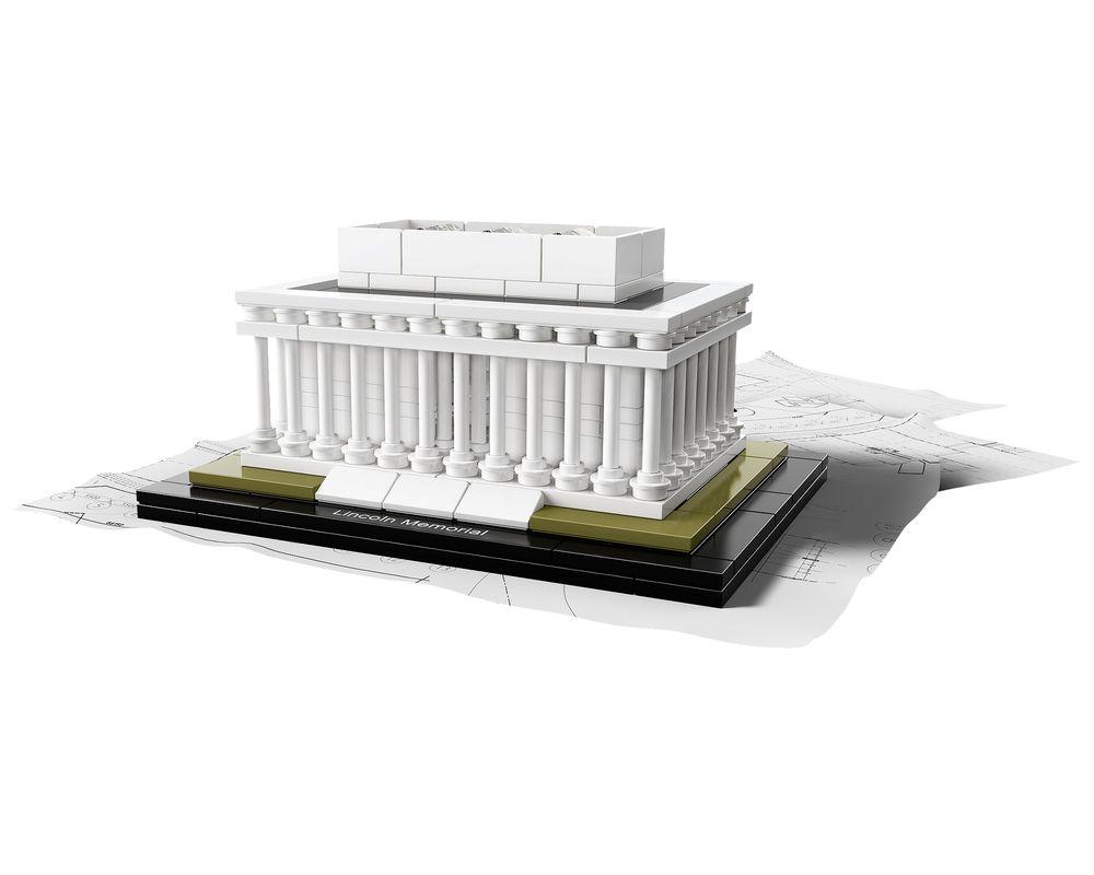 LEGO Set 21022-1 Lincoln Memorial (Model - A-Model)