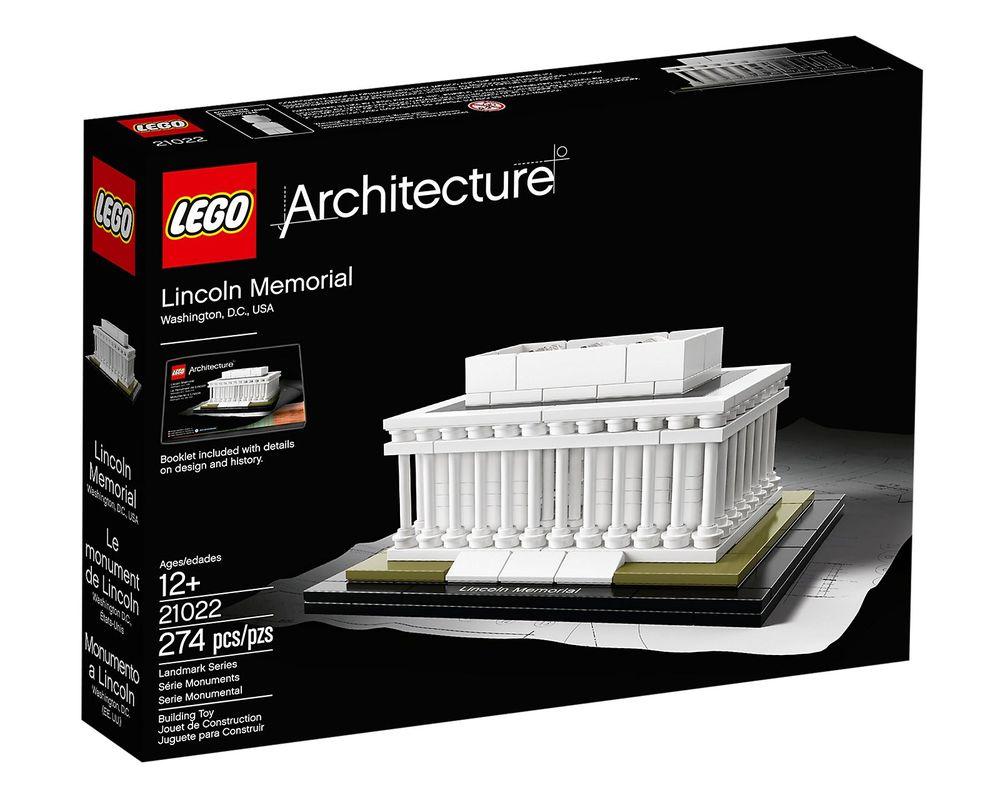 LEGO Set 21022-1 Lincoln Memorial