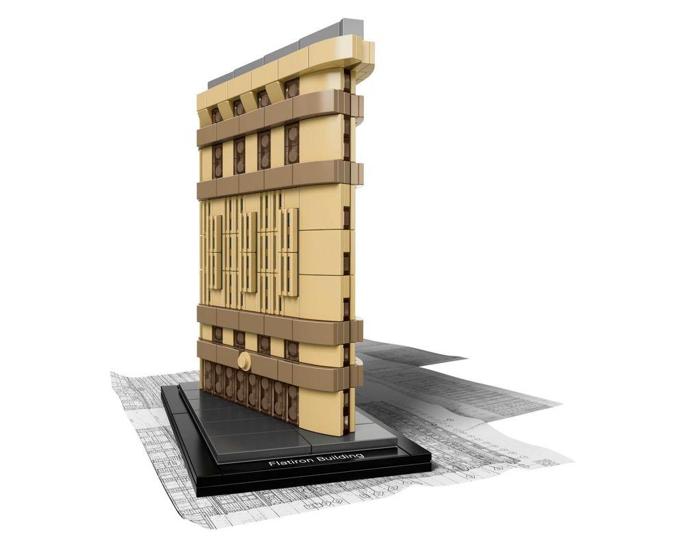 LEGO Set 21023-1 Flatiron Building (Model - A-Model)