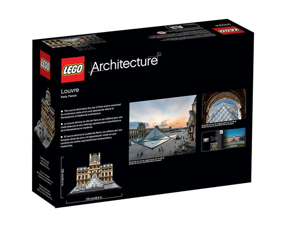 LEGO Set 21024-1 Louvre