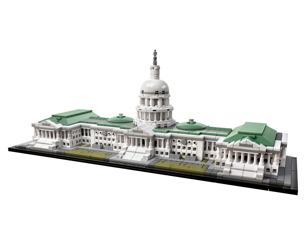 LEGO Set 21030-1 United States Capitol Building (Model - A-Model)