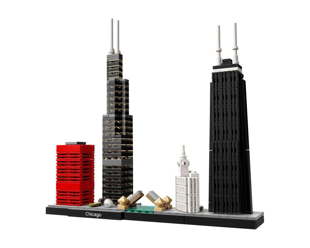 LEGO Set 21033-1 Chicago (Model - A-Model)