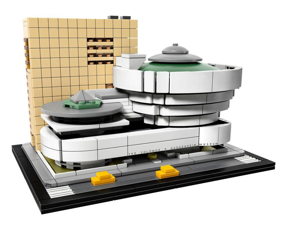 LEGO Set 21035-1 Solomon R. Guggenheim Museum (Model - A-Model)