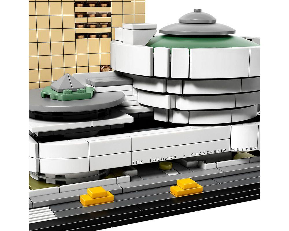 LEGO Set 21035-1 Solomon R. Guggenheim Museum