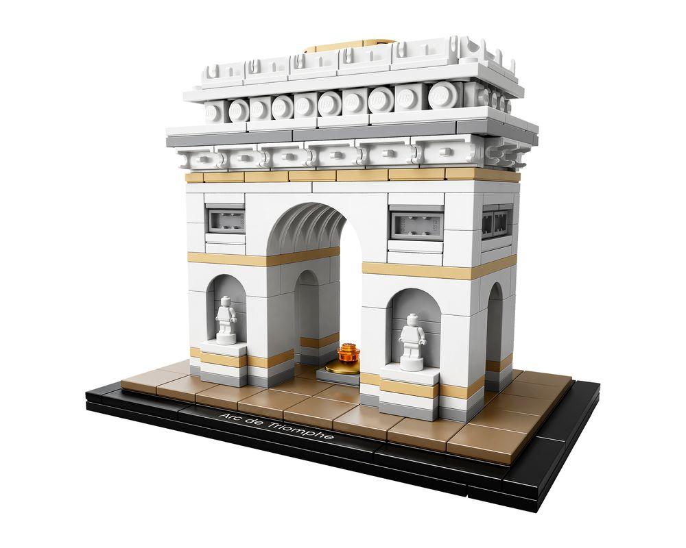 LEGO Set 21036-1 Arc de Triomphe (LEGO - Model)
