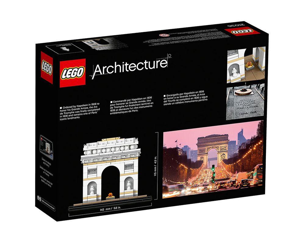 LEGO Set 21036-1 Arc de Triomphe