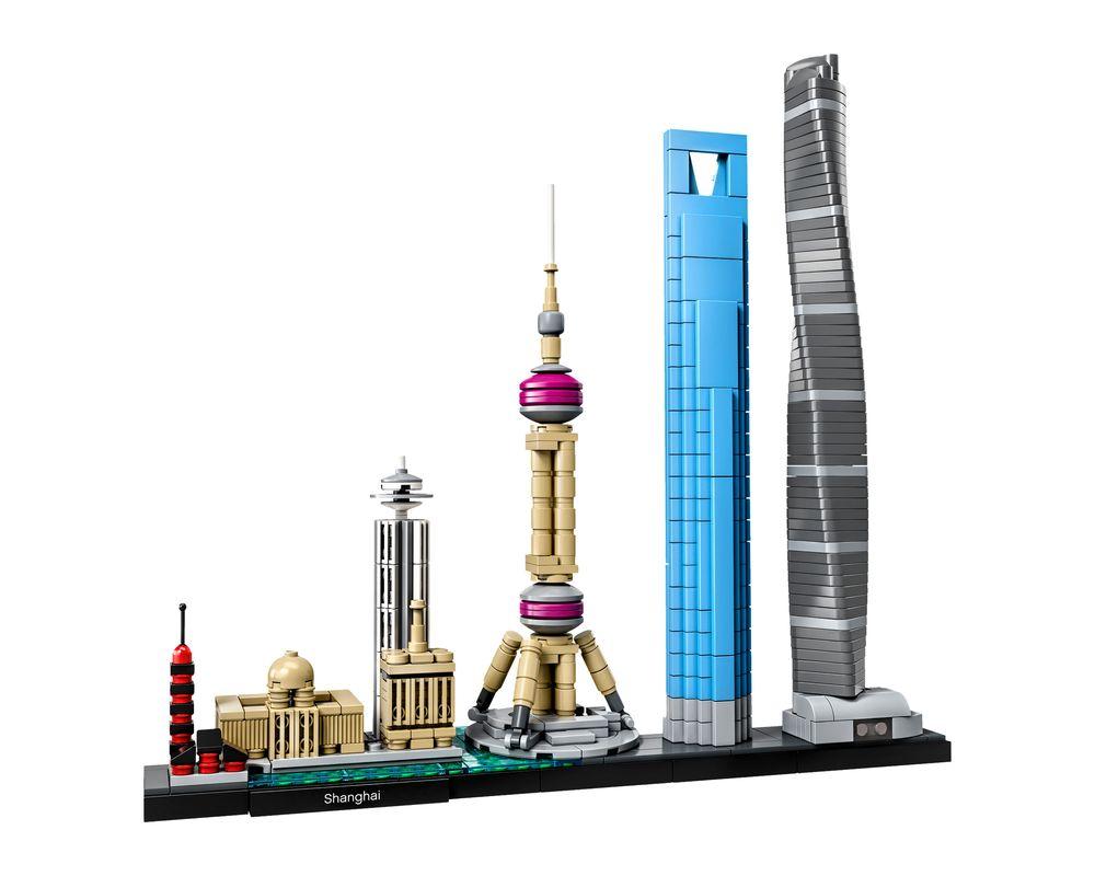LEGO Set 21039-1 Shanghai (LEGO - Model)