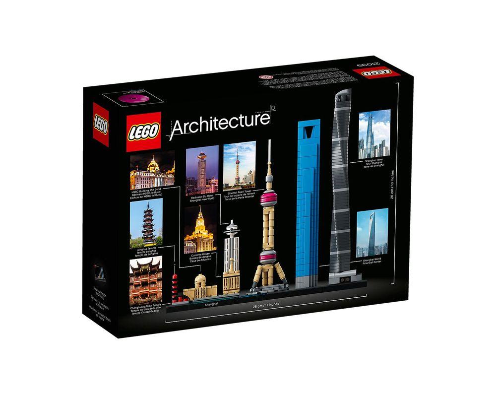 LEGO Set 21039-1 Shanghai