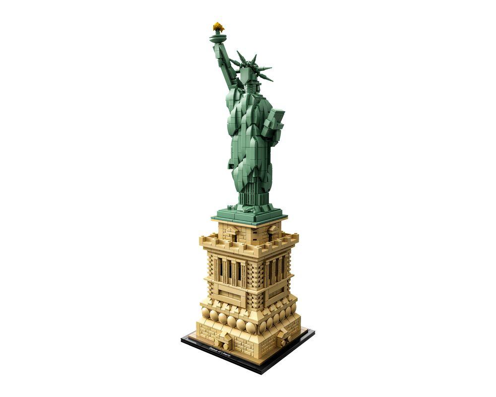 LEGO Set 21042-1 Statue of Liberty (LEGO - Model)