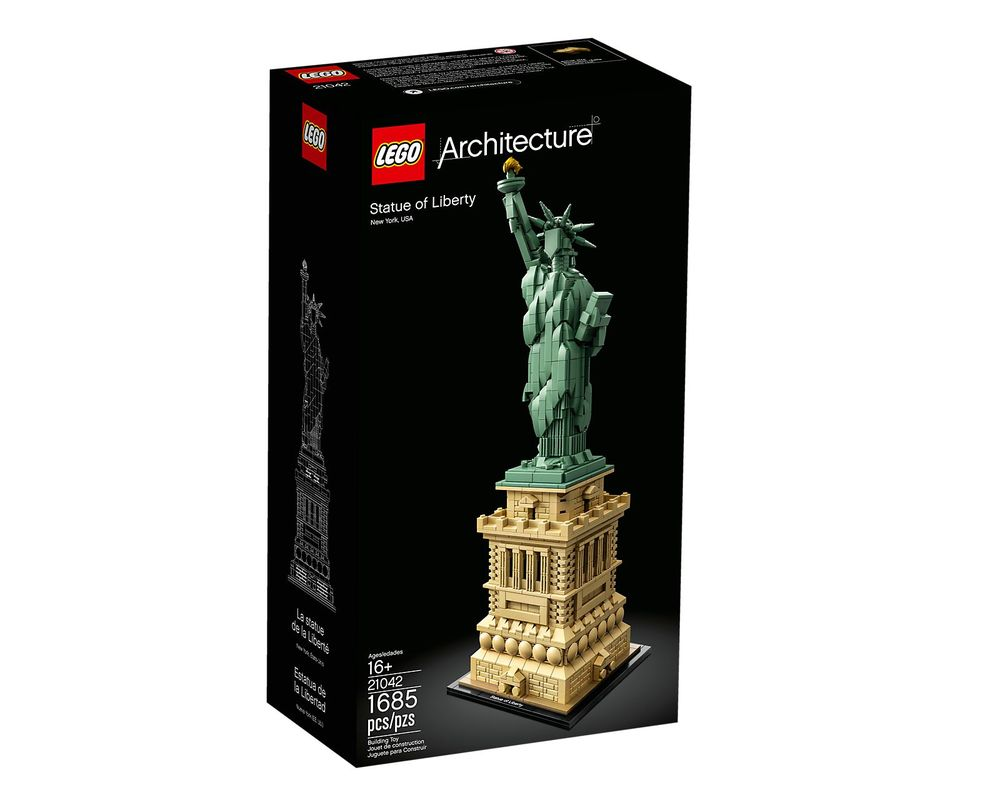 LEGO Set 21042-1 Statue of Liberty