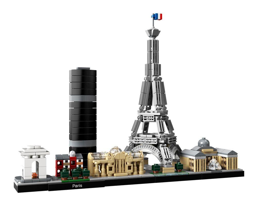 LEGO Set 21044-1 Paris (LEGO - Model)