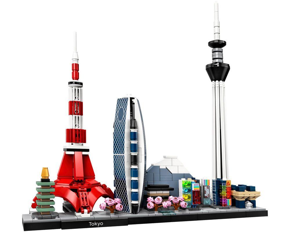 LEGO Set 21051-1 Tokyo (Model - A-Model)