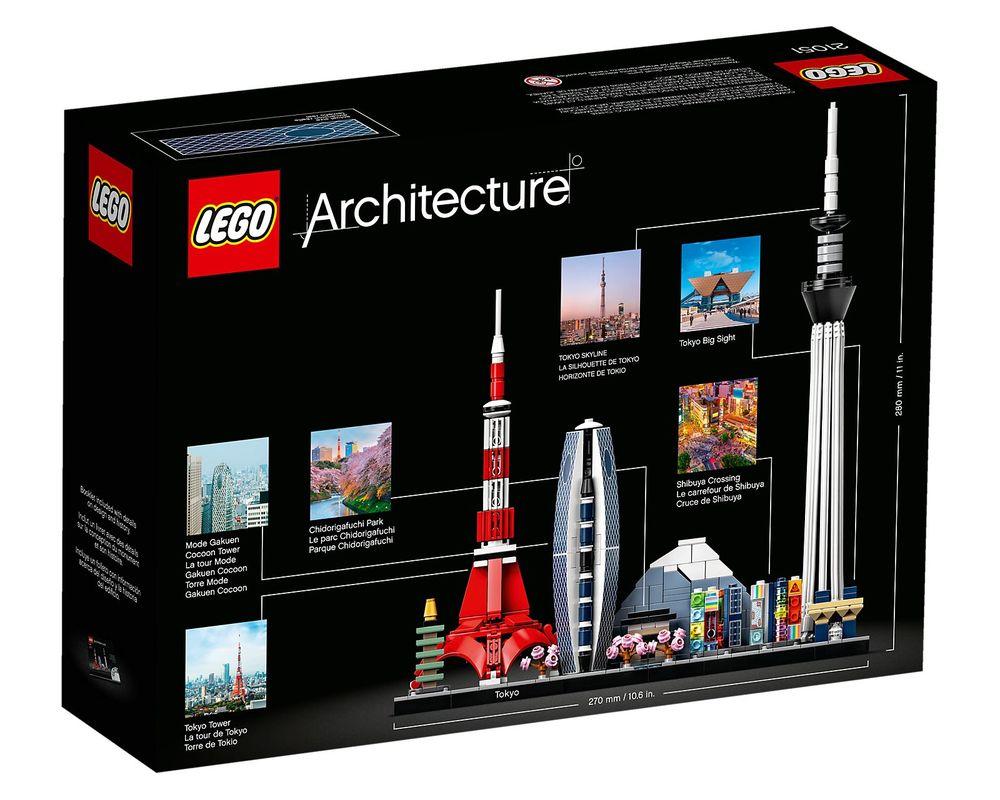 LEGO Set 21051-1 Tokyo (Box - Back)