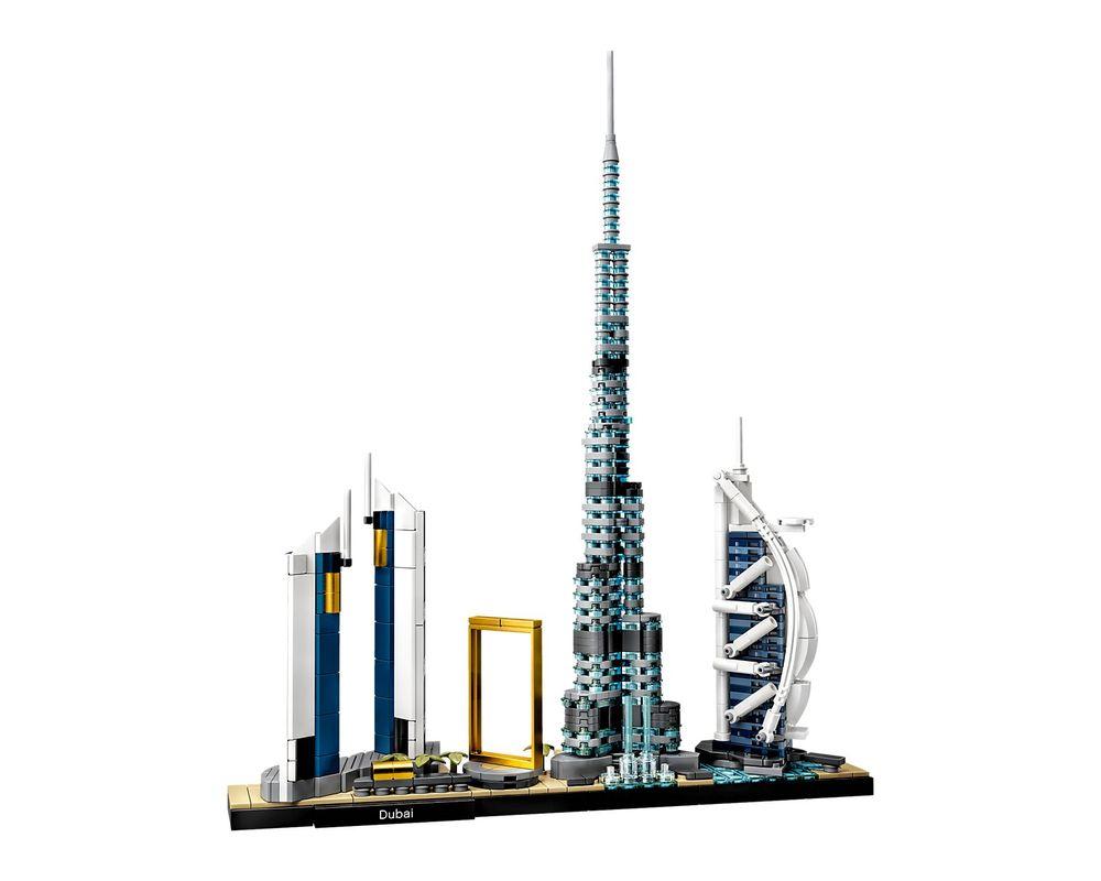 LEGO Set 21052-1 Dubai (Model - A-Model)