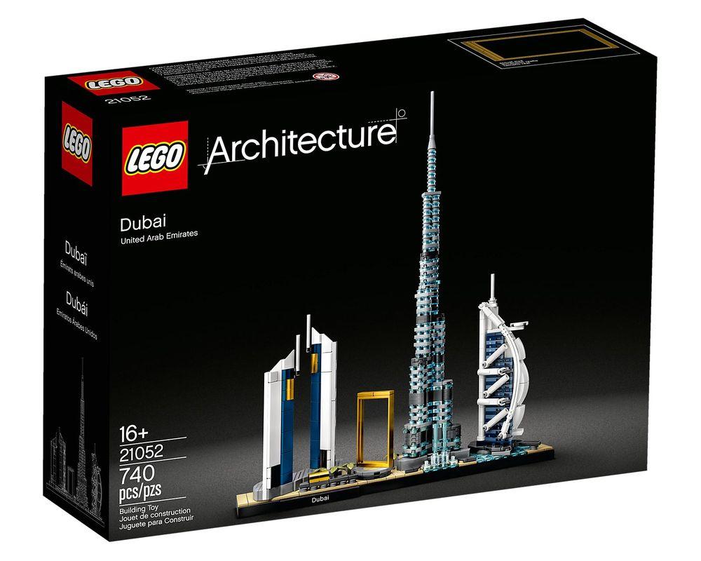 LEGO Set 21052-1 Dubai
