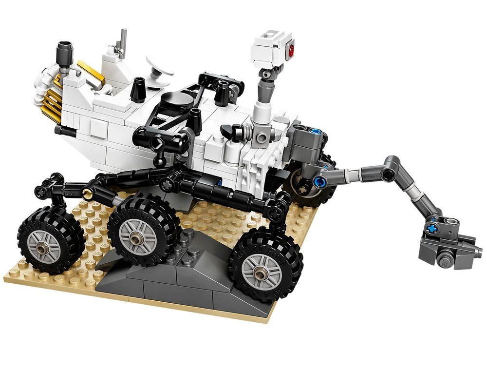 LEGO Set 21104-1 NASA Mars Science Laboratory Curiosity Rover