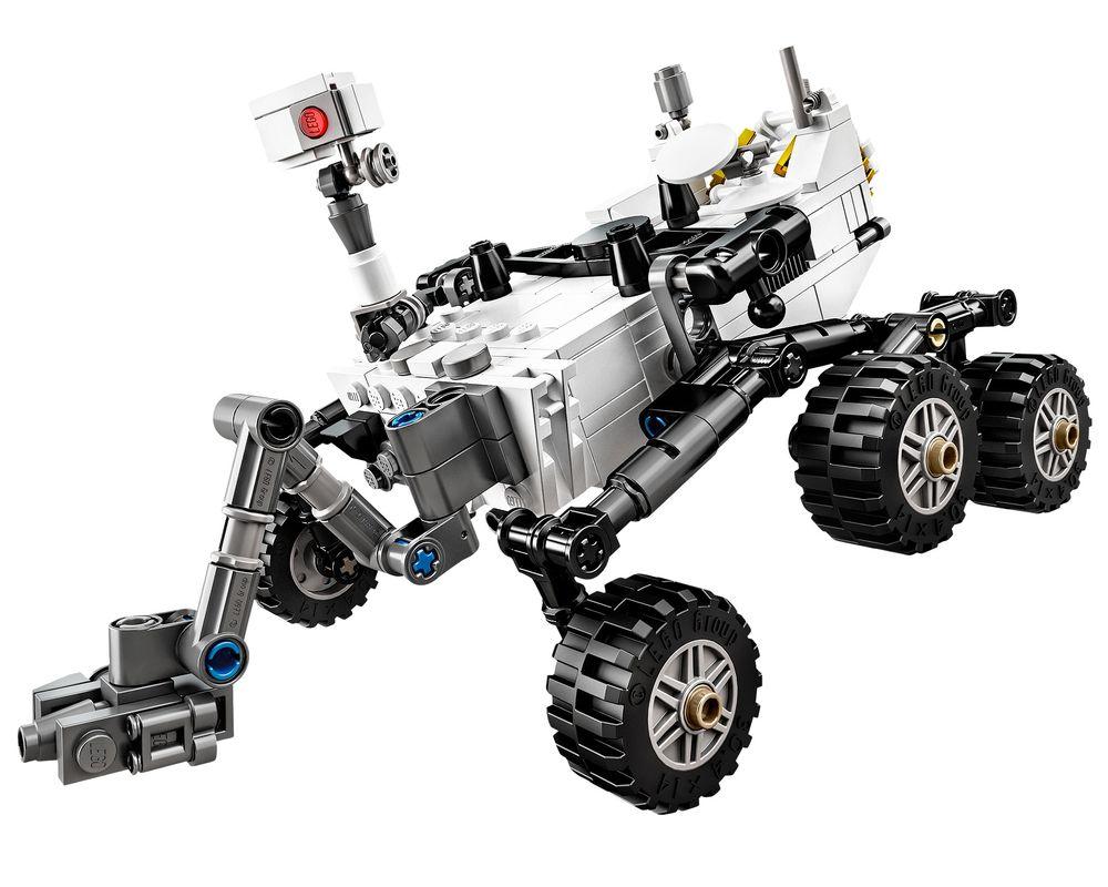 LEGO Set 21104-1 NASA Mars Science Laboratory Curiosity Rover (LEGO - Model)