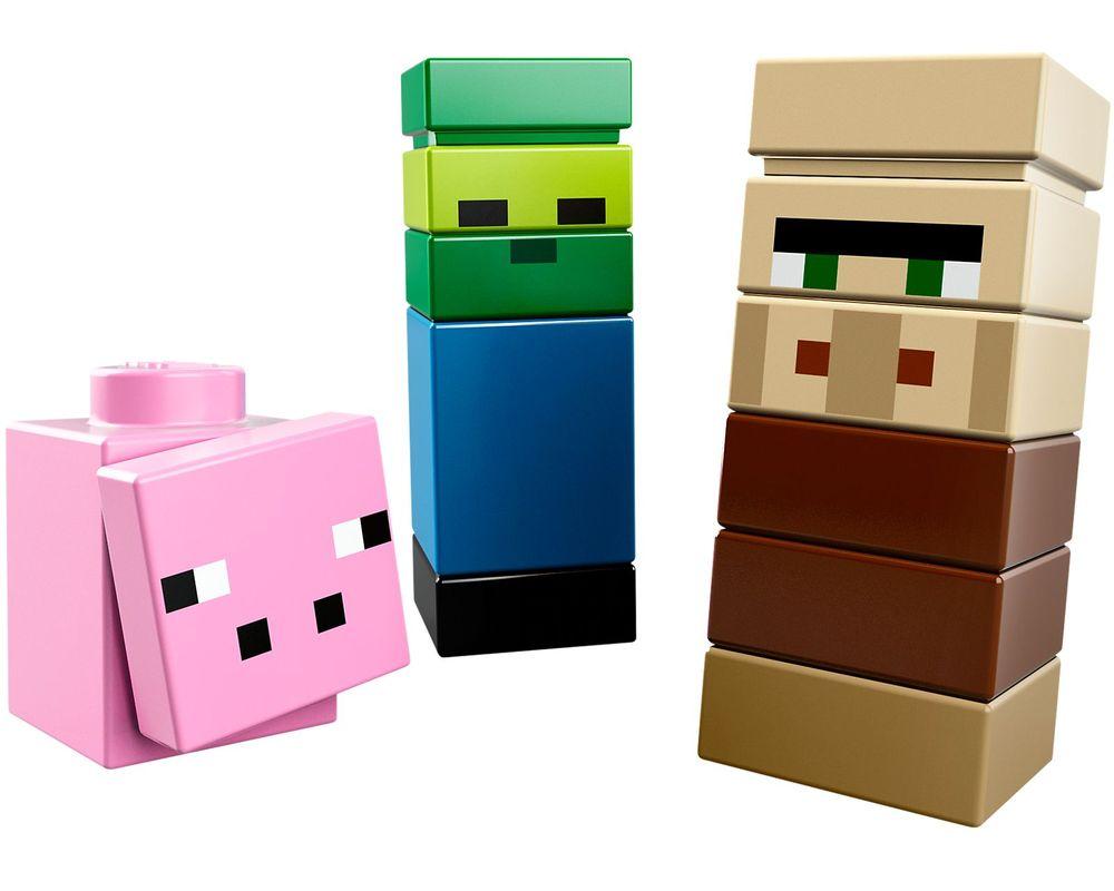 LEGO Set 21105-1 Micro World - The Village