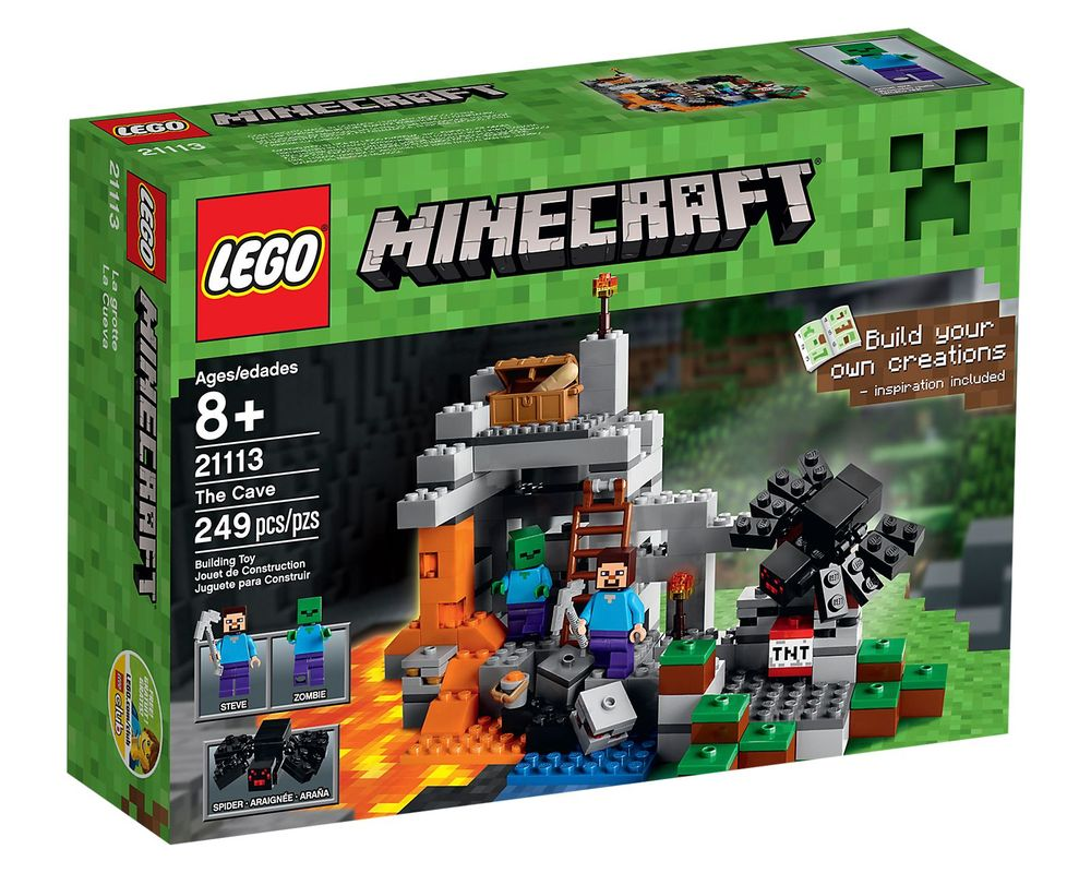 LEGO Set 21113-1 The Cave