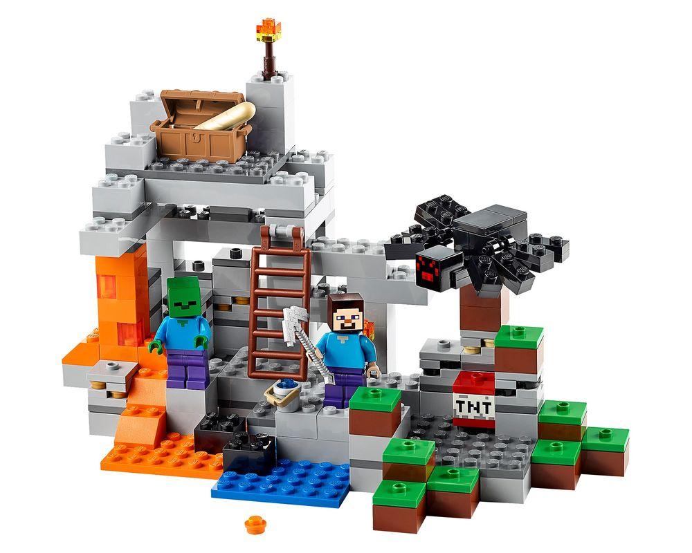 LEGO Set 21113-1 The Cave (LEGO - Model)