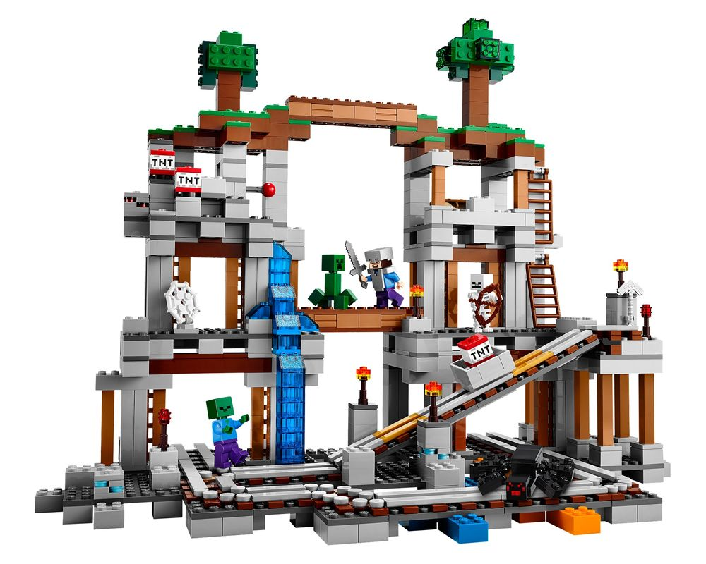 LEGO Set 21118-1 The Mine (Model - A-Model)