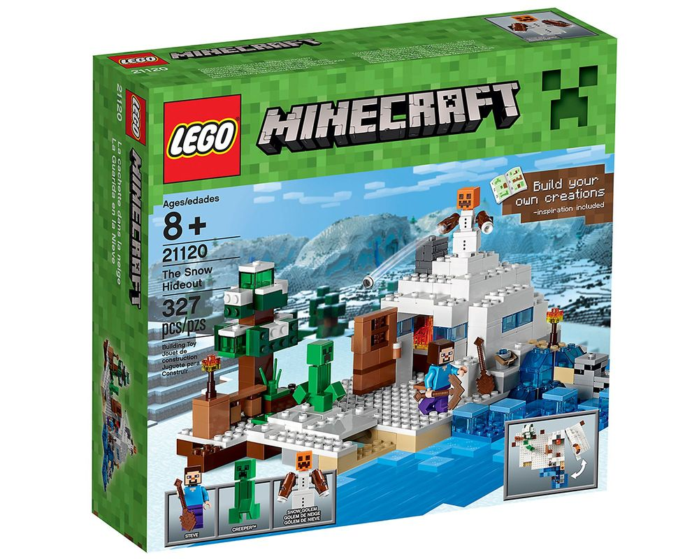 LEGO Set 21120-1 The Snow Hideout