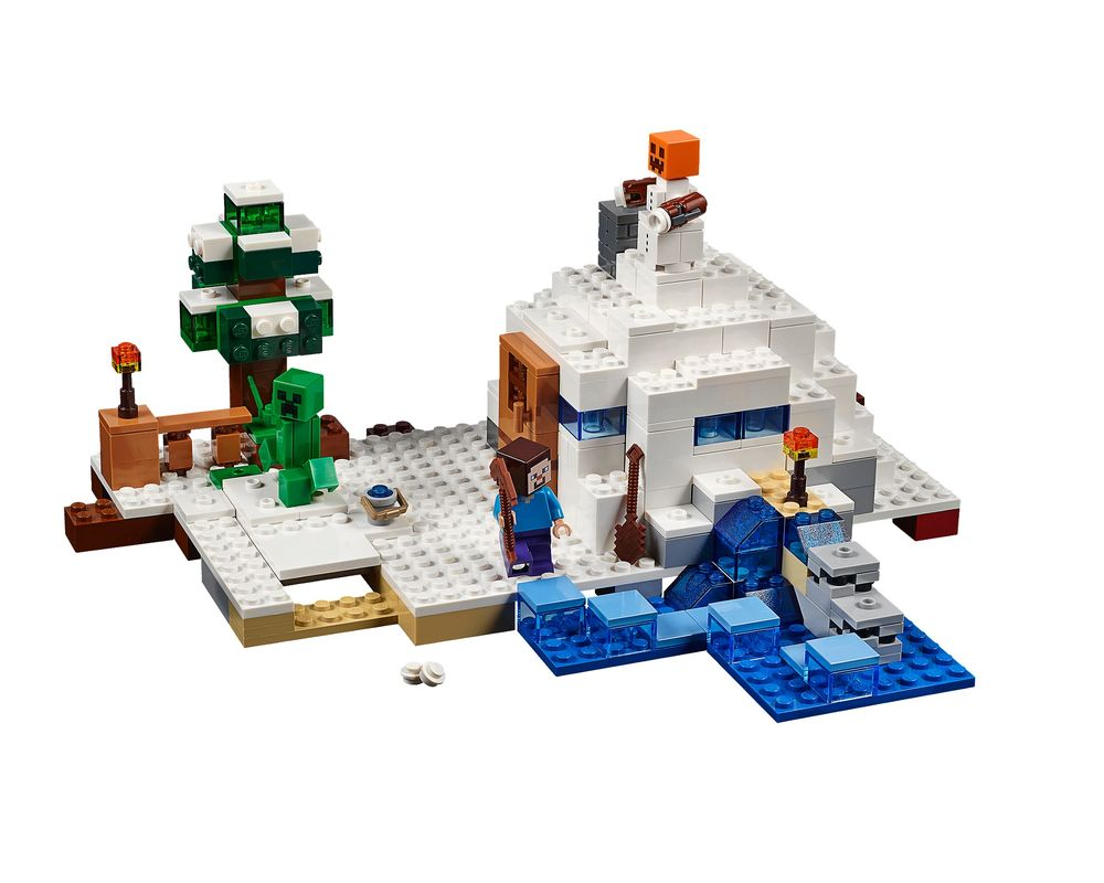 LEGO Set 21120-1 The Snow Hideout (Model - A-Model)
