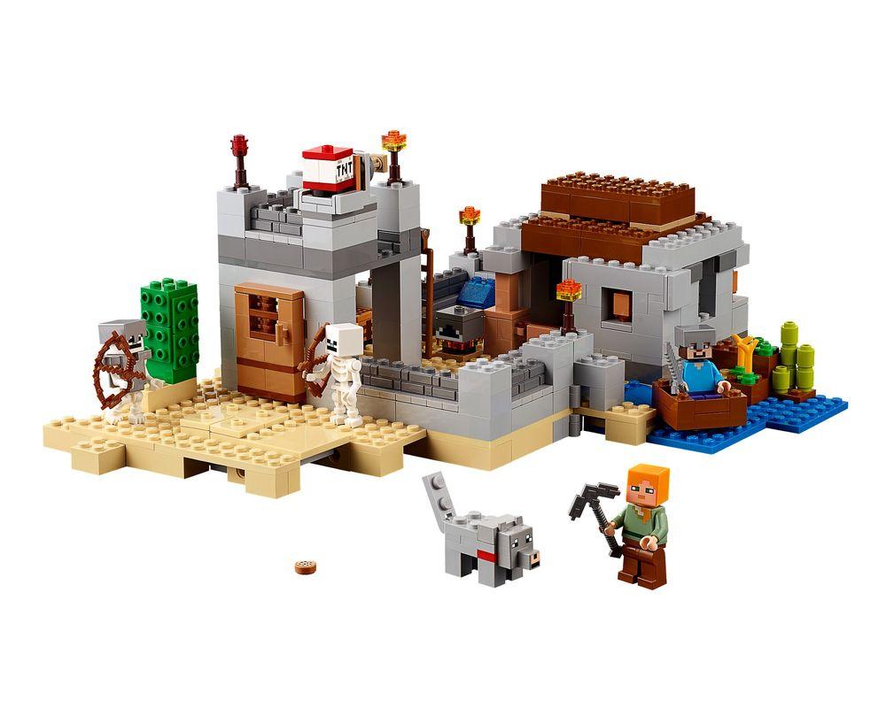 LEGO Set 21121-1 The Desert Outpost (LEGO - Model)