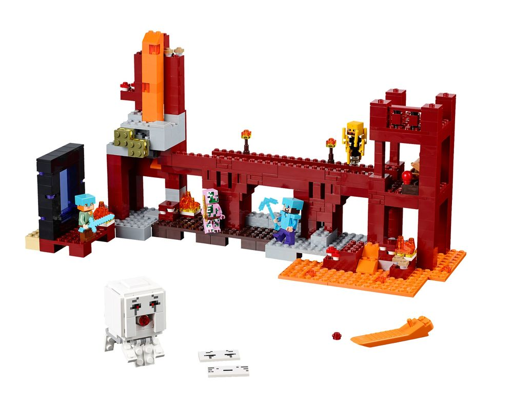 LEGO Set 21122-1 The Nether Fortress (Model - A-Model)