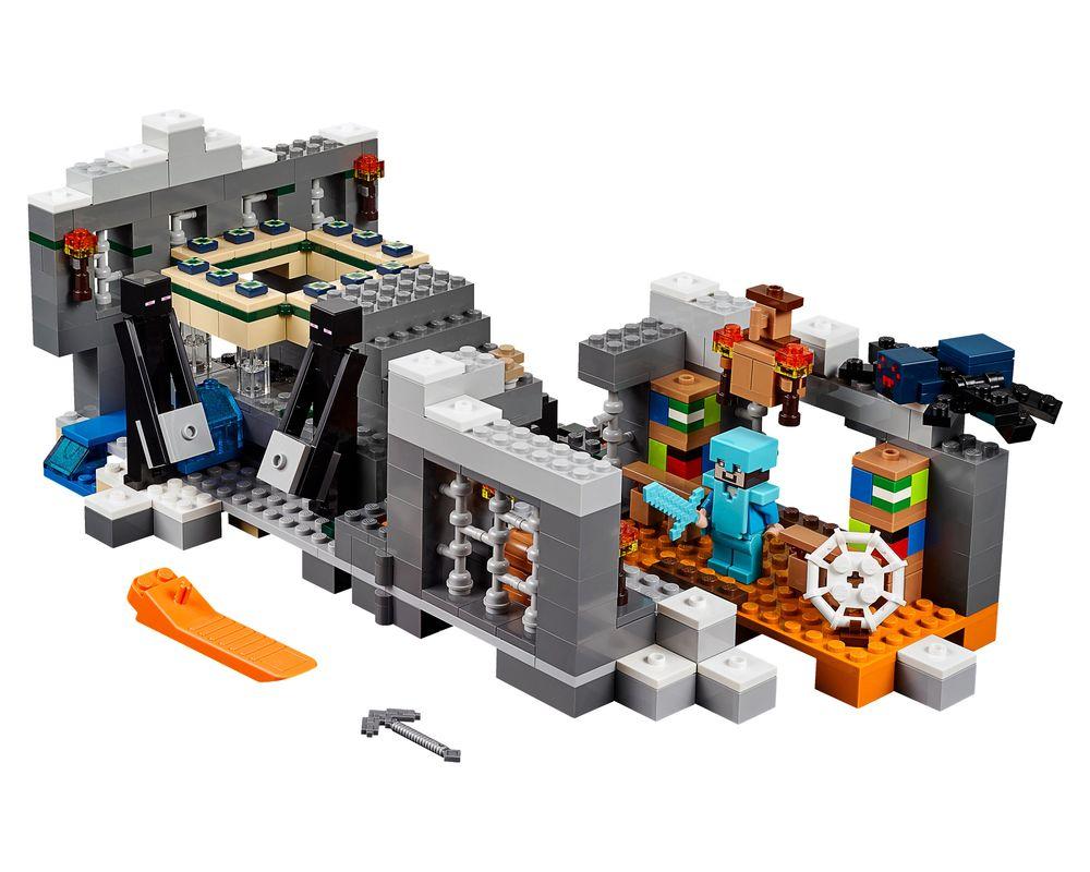 LEGO Set 21124-1 The End Portal (LEGO - Model)