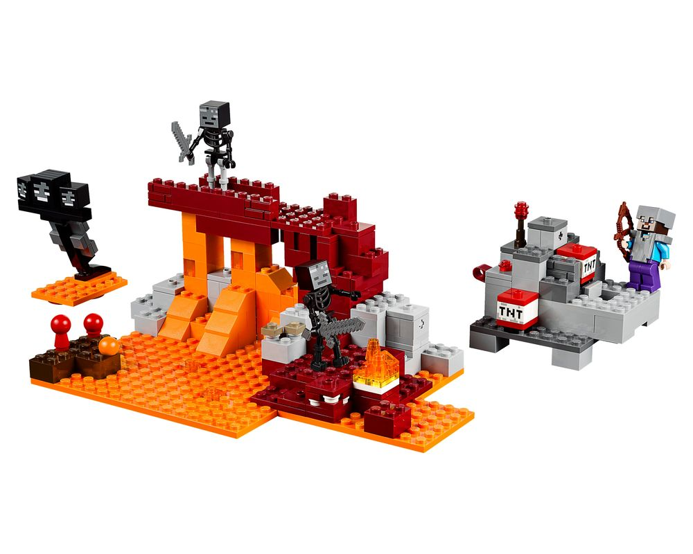 LEGO Set 21126-1 The Wither (Model - A-Model)
