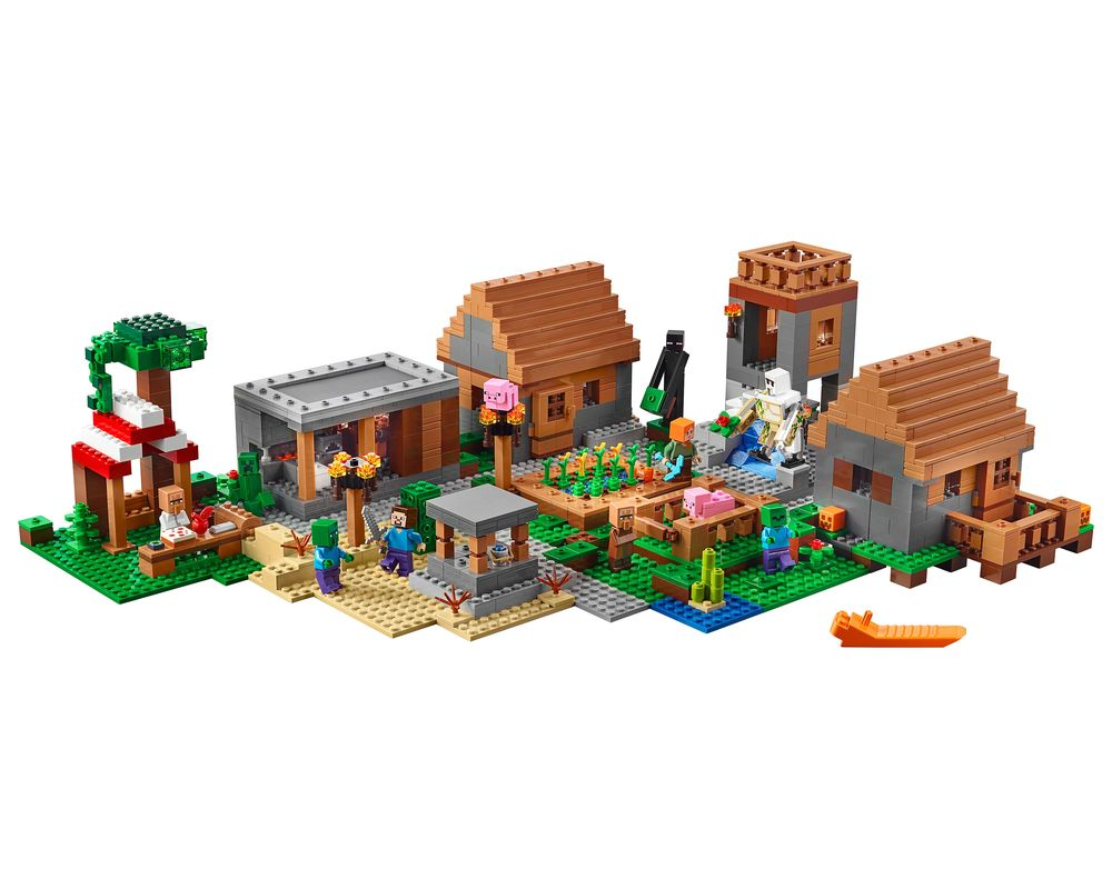 LEGO Set 21128-1 The Village (LEGO - Model)