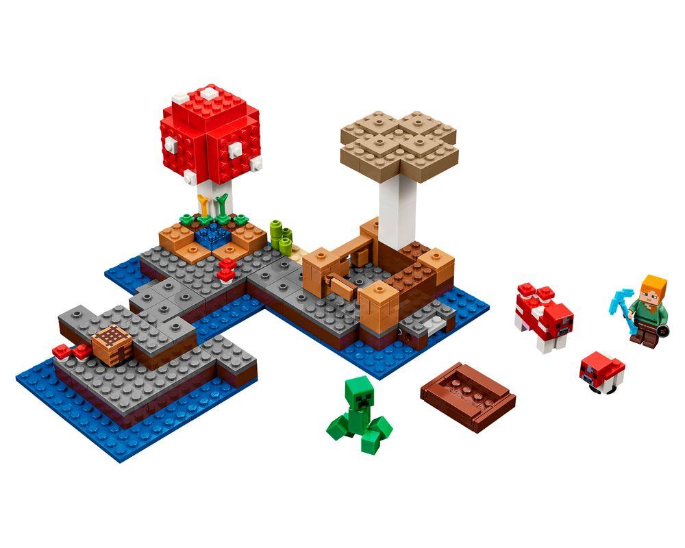 LEGO Set 21129-1 The Mushroom Island (LEGO - Model)