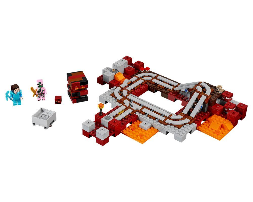 LEGO Set 21130-1 The Nether Railway (LEGO - Model)